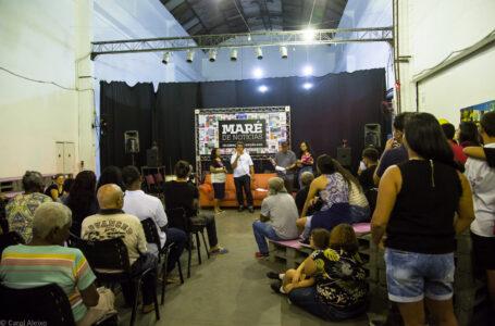 Evento de Celebração da Edição 100 do Jornal Maré de Notícias. Foto © Carol Aleixo.
