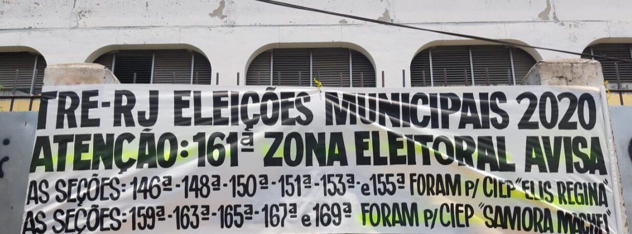 Seções eleitorais do Ciep Hélio Smidt serão transferidas para outras escolas da Maré