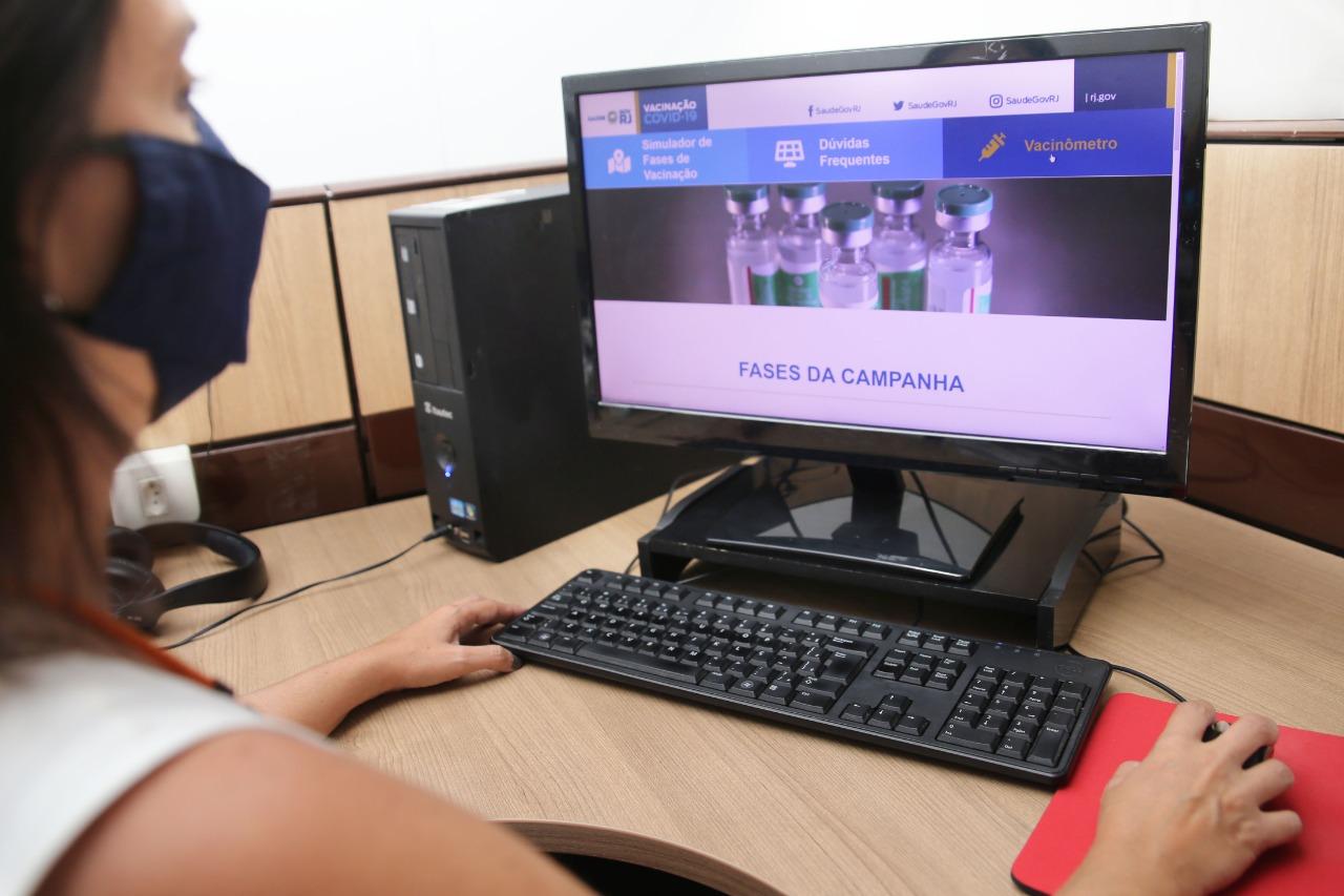 Secretaria de Saúde lança portal com informações sobre vacinação contra Covid-19