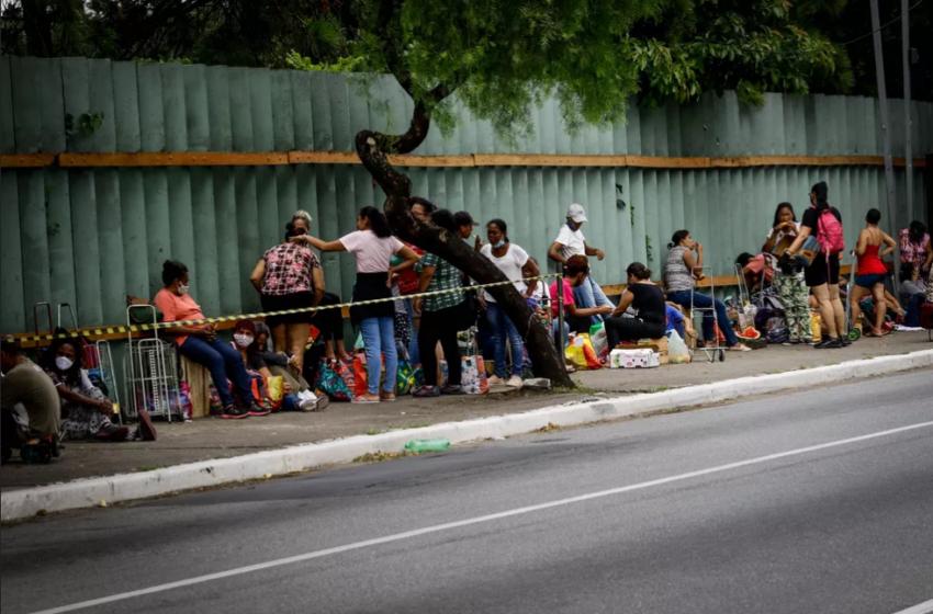 Falta de comida e medo do vírus estão mais fortes na mesa dos brasileiros